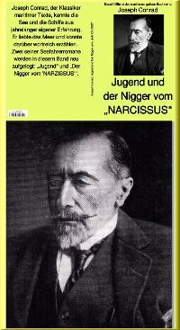 """Cover Jugend und Der Nigger vom """"NARCISSUS"""" - Band 128e in der maritimen gelben Buchreihe bei Jürgen Ruszkowski"""