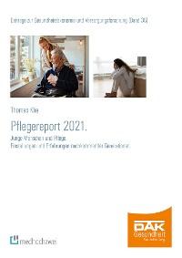Cover Pflegereport 2021