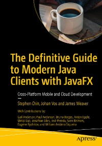 Cover The Definitive Guide to Modern Java Clients with JavaFX