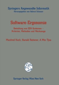 Cover Software-Ergonomie