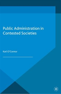 Cover Public Administration in Contested Societies
