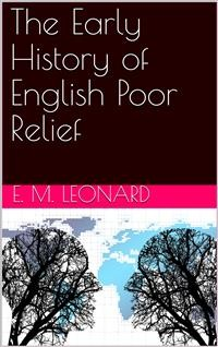 Cover The Early History of English Poor Relief