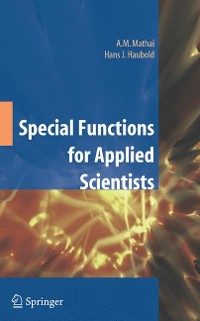 Cover Special Functions for Applied Scientists