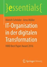 Cover IT-Organisation in der digitalen Transformation