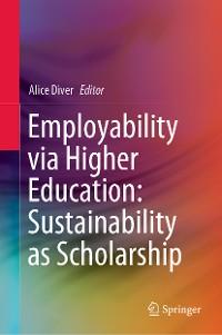 Cover Employability via Higher Education: Sustainability as Scholarship