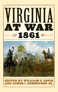 Cover Virginia at War, 1861