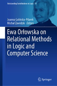 Cover Ewa Orłowska on Relational Methods in Logic and Computer Science
