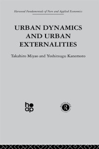 Cover Urban Dynamics and Urban Externalities