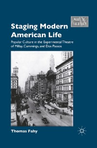 Cover Staging Modern American Life