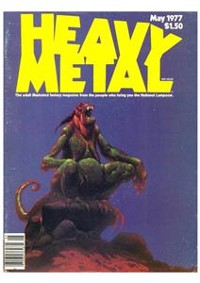 Cover Heavy Metal May1977