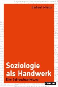 Cover Soziologie als Handwerk