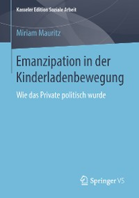 Cover Emanzipation in der Kinderladenbewegung