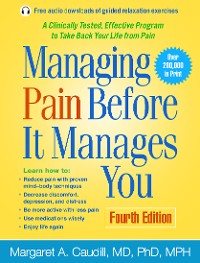 Cover Managing Pain Before It Manages You, Fourth Edition