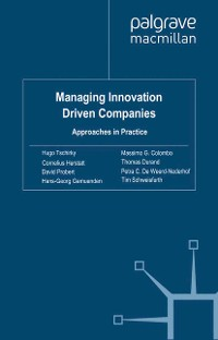Cover Managing Innovation Driven Companies