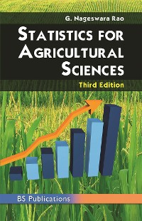 Cover STATISTICS FOR AGRICULTURAL SCIENCES THIRD EDITION