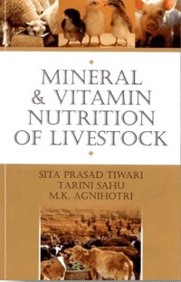Cover Mineral and Vitamin Nutrition of Livestock