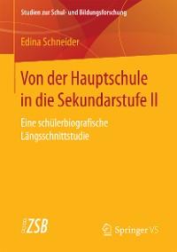 Cover Von der Hauptschule in die Sekundarstufe II