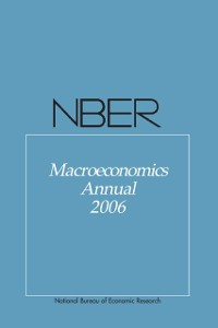 Cover NBER Macroeconomics Annual 2006