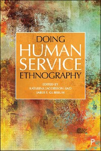 Cover Doing Human Service Ethnography