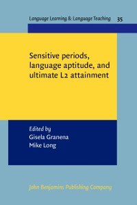 Cover Sensitive periods, language aptitude, and ultimate L2 attainment