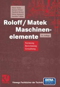 Cover Roloff/Matek Maschinenelemente