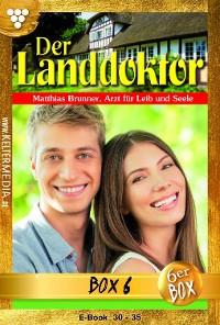 Cover Der Landdoktor Jubiläumsbox 6 – Arztroman