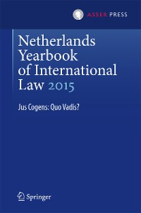 Cover Netherlands Yearbook of International Law 2015