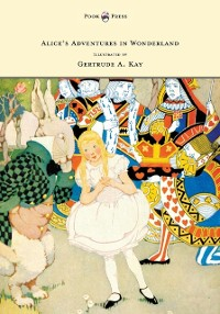 Cover Alice's Adventures in Wonderland - Illustrated by Gertrude A. Kay