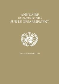 Cover Annuaire des Nations Unies sur le Désarmement 2018: Partie II