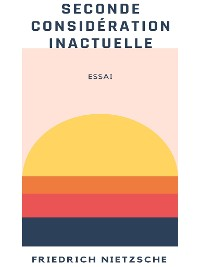 Cover Seconde considération inactuelle