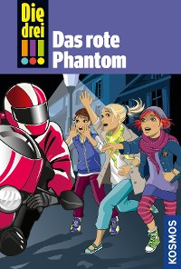 Cover Die drei !!!, 52, Das rote Phantom (drei Ausrufezeichen)