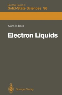 Cover Electron Liquids