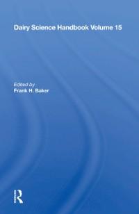 Cover Dairy Science Handbook