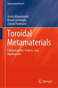 Cover Toroidal Metamaterials