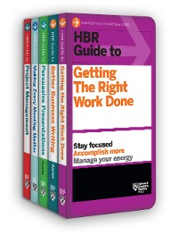 Cover HBR Guides to Being an Effective Manager Collection (5 Books) (HBR Guide Series)