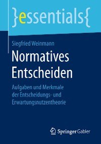 Cover Normatives Entscheiden