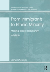 Cover From Immigrants to Ethnic Minority
