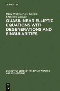 Cover Quasilinear Elliptic Equations with Degenerations and Singularities