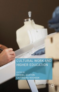 Cover Cultural Work and Higher Education