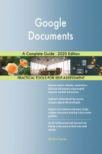 Cover Google Documents A Complete Guide - 2020 Edition