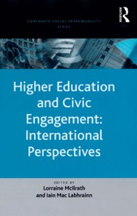 Cover Higher Education and Civic Engagement: International Perspectives