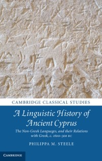 Cover Linguistic History of Ancient Cyprus