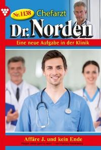 Cover Chefarzt Dr. Norden 1138 – Arztroman