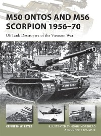 Cover M50 Ontos and M56 Scorpion 1956 70