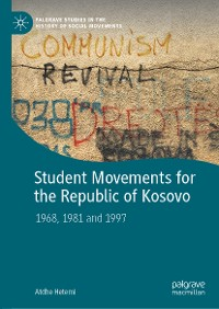 Cover Student Movements for the Republic of Kosovo
