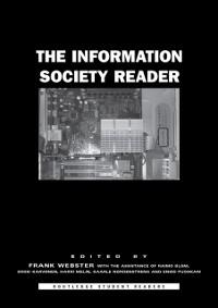 Cover Information Society Reader