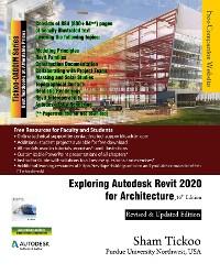 Cover Exploring Autodesk Revit 2020 for Architecture, 16th Edition