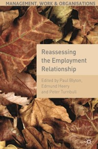 Cover Reassessing the Employment Relationship