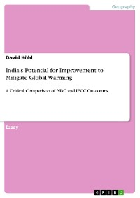 Cover India's Potential for Improvement to Mitigate Global Warming