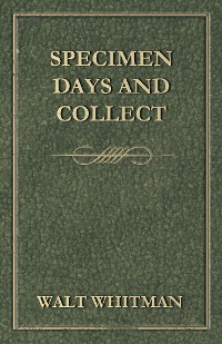 Cover Specimen Days and Collect